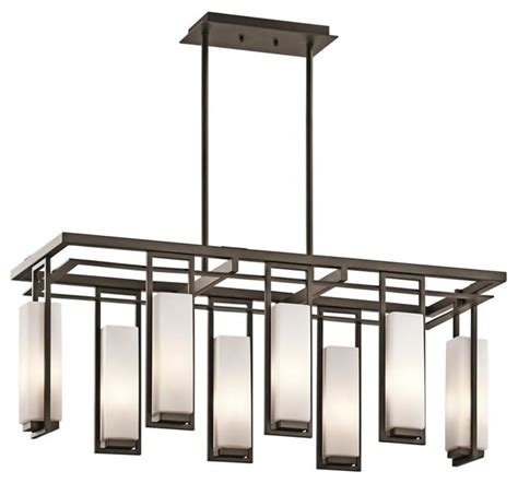 Kichler Perimeter 42935oz 8 Light Olde Bronze Linear Kichler Linear Lighting