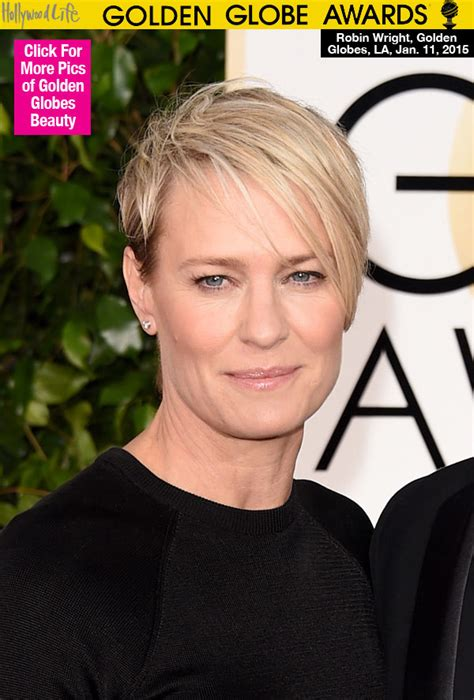 robin wright hair style 2014 golden globes hollywood life