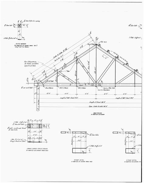 roof pattern drawing file 29 photocopy of drawing of power plant details of