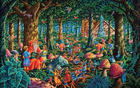 fairytale forest jigsaw puzzle puzzlewarehouse com