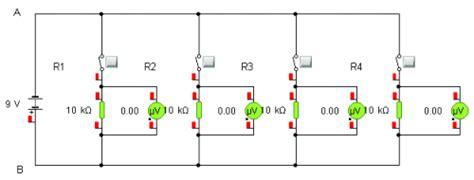 parallel circuits same voltage parallel circuit voltage activity