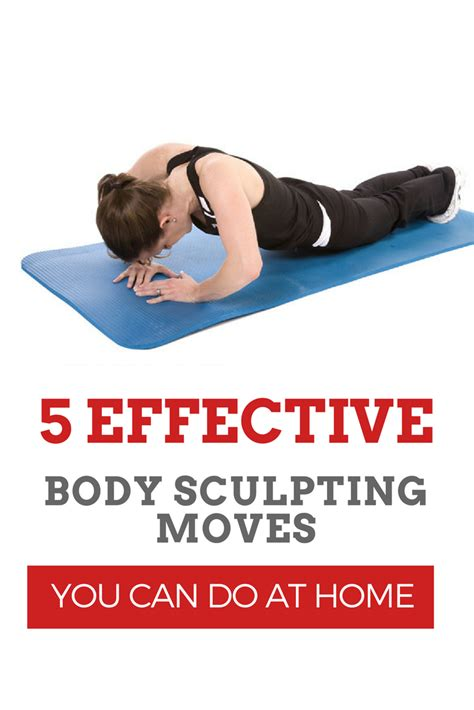 5 simple but effective sculpting workouts you can do