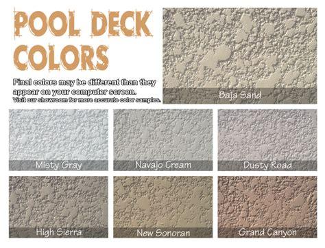 kool deck colors pool deck restore