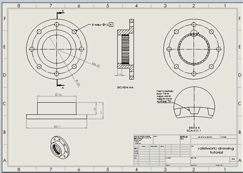 solidworks tutorial read only 120 solidworks drawing tutorial
