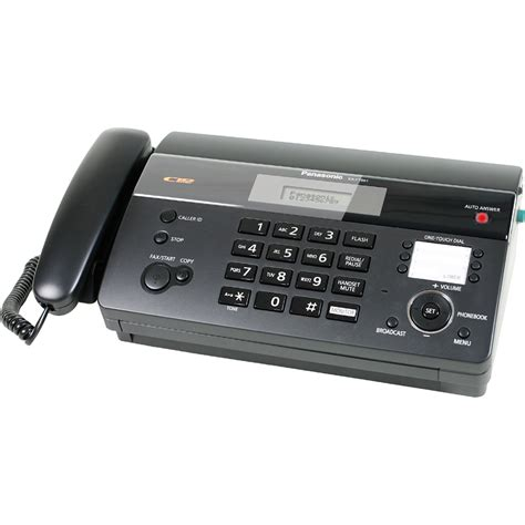 Mesin Faximile Panasonic Kx Ft987 supplier mesin fax