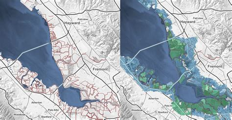 san jose sea level map rising seas federal inaction and donald turn