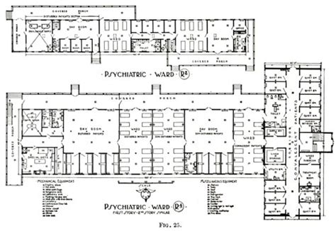 mental hospital floor plan office of medical history military hospitals in the