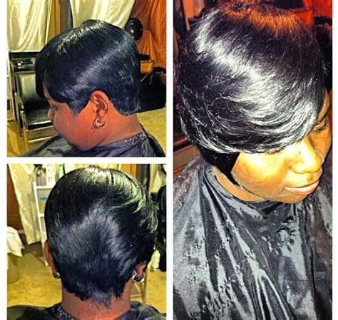 27 peice for african americans 27 piece african american short hairstyle quick weave