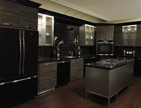 Grey Kitchen Cabinets With Black Appliances Best 20 Kitchen Black Appliances Ideas On Black Regarding Kitchen Cabinets Black