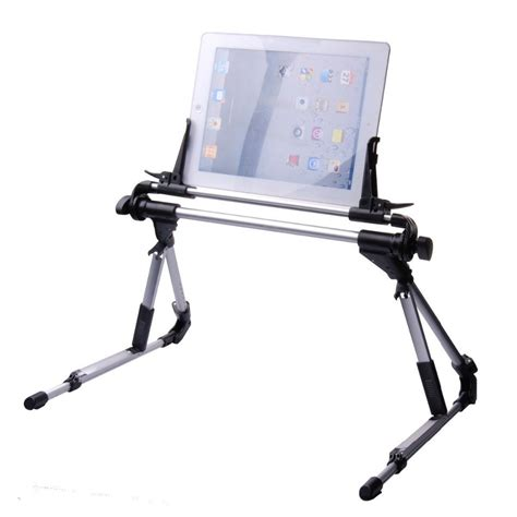 buy  degree rotatable tablet bed stand adjustable portable foldable mobile