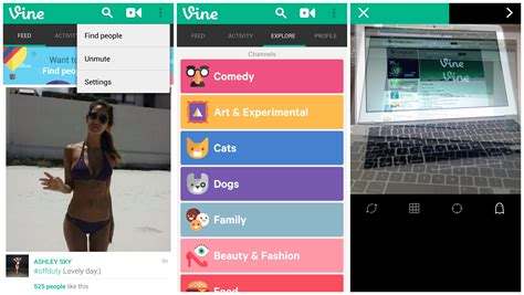 android new update vine bans from their android app