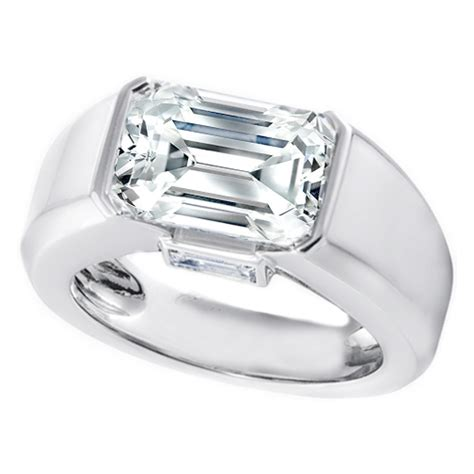 platinum engagement rings from mdc diamonds nyc