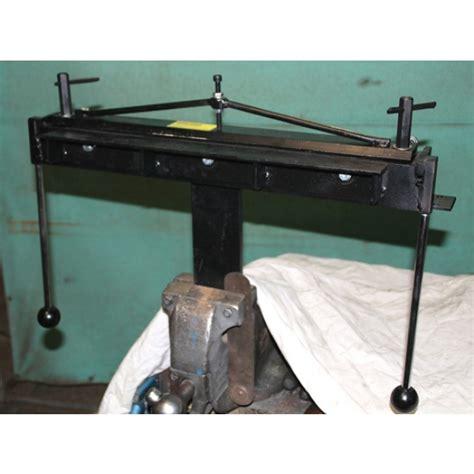 mounting a bench vice sheet metal folder vice mounting precision bench folder