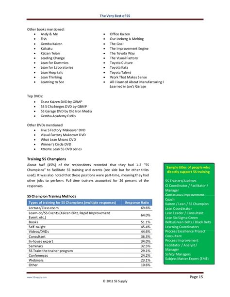 5s five challenges lean training dvd from gbmp dvdrip the very best of 5s 5s benchmarking report