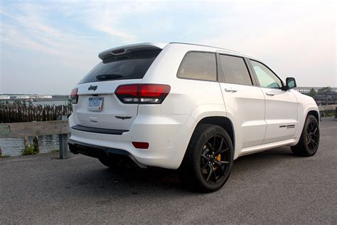 jeep trackhawk back review 2018 jeep grand trackhawk supercharges