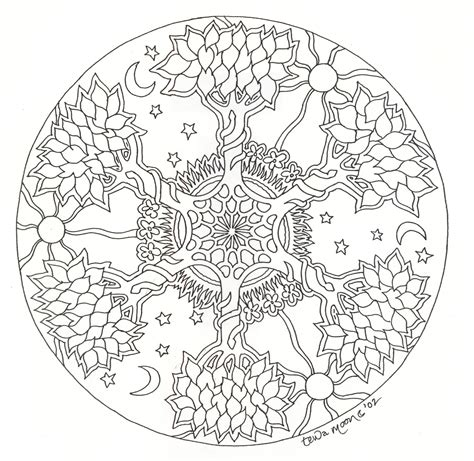 mandala coloring pages pinterest mandalas adult coloring mandala pinterest