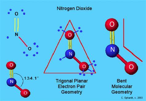 no2 diagram how do you draw vsepr diagram of nitrogen dioxide socratic
