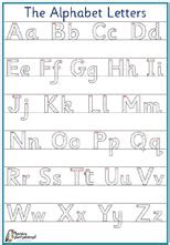 capital letter formation debbie hepplewhite handwriting home page