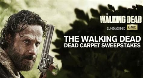 Walking Dead Sweepstakes First Word - amc dead carpet sweepstakes sweepstakesbible