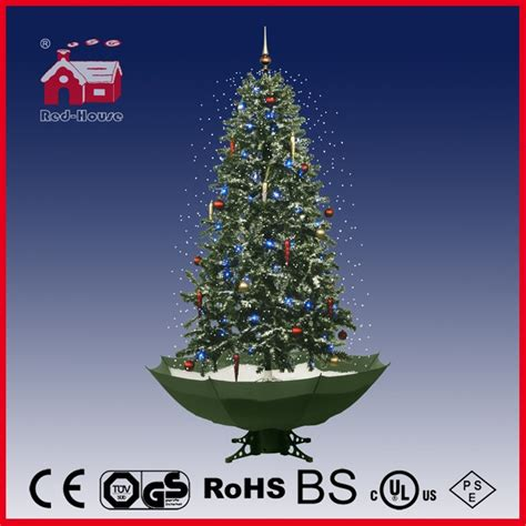 40110u190 gw holiday decoration snowing christmas tree