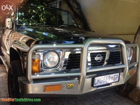 used nissan patrol for sale in south africa 1994 nissan patrol 4 8gl used car for sale in johannesburg