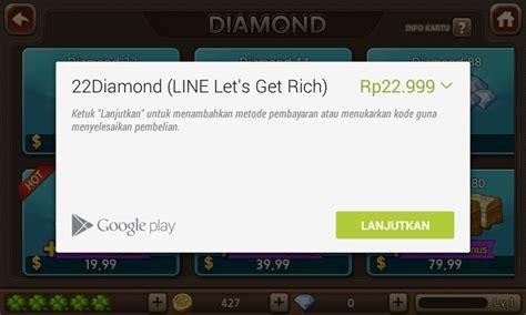 tutorial hack line lets get rich cara mudah dan gratis dapatkan diamond line let s get rich
