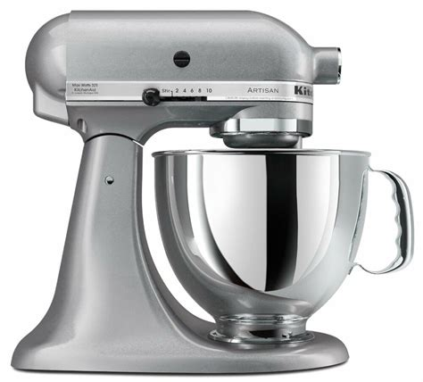 kitchen aid stand mixer new sealed kitchenaid artisan ksm150pssm 5 quart stand mixers all metal silver 50946877020 ebay