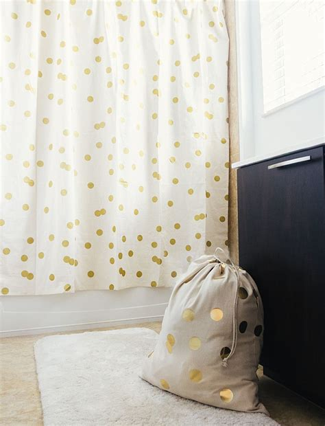 gold dot shower curtain polka dot shower curtain gifts for the homebody