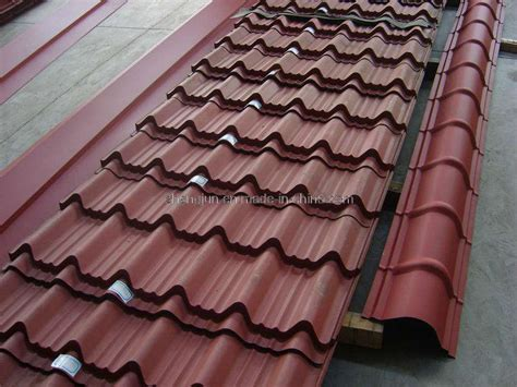Metal Tile Roof China Colored Metal Roofing Tile Photos Pictures Made In China