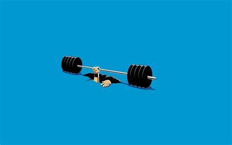 dream catcher v3 03 funny weight lifting accident illustration desktop wallpaper