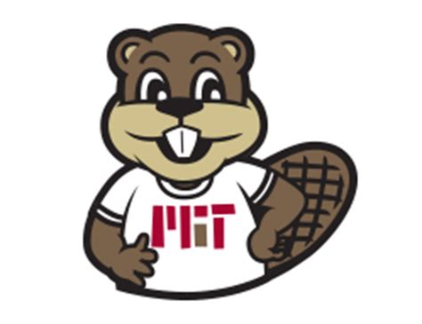 tim the beaver mit graphic identity