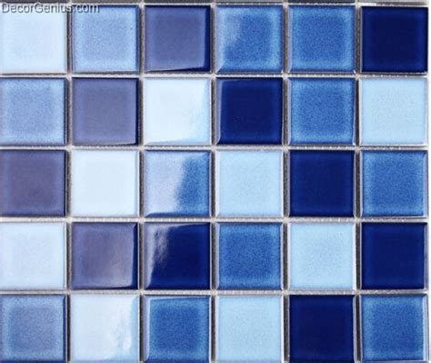 easy home building material light blue kitchen mosaic
