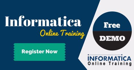 online tutorial for informatica informatica live demo with trainer vijay tecwallet