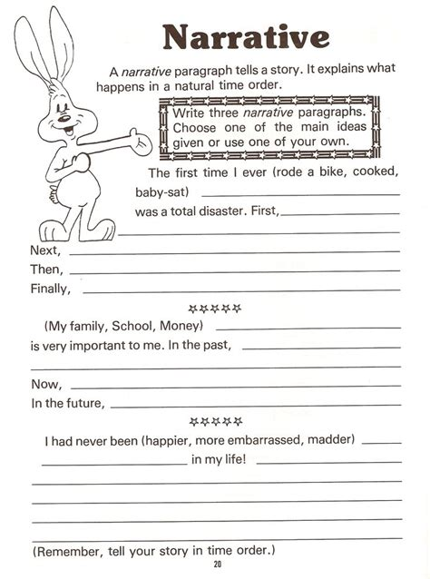 biography introduction features narrative paragraph topics narrative story elements