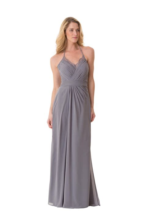 Sale Bj 3690 Gray Dress bari 1658 lace illusion v neck bridesmaid dress