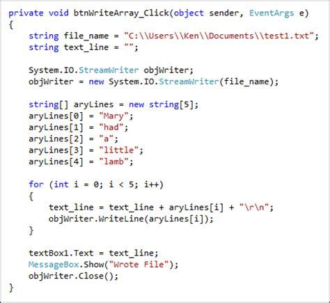 String Program - write a text file java antitesisadalah x fc2