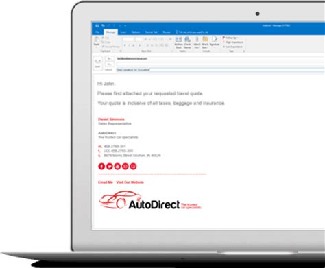 email signatures for car dealers