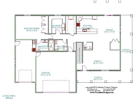 main floor plans crookston designs plan 12026 00