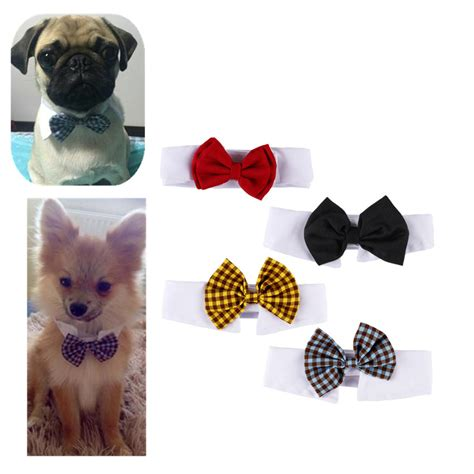 Wedding Accessories For Dogs by Pet Cats Tie Wedding Accessories Dogs Bowtie Clothes