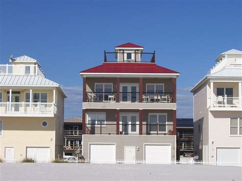 slice of paradise on pensacola beach homeaway villa