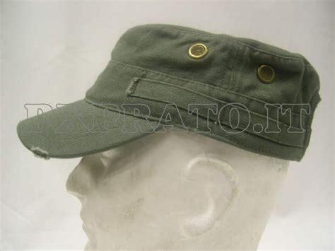 cappello vasco cappello militare verde tipo vasco berretto con visiera