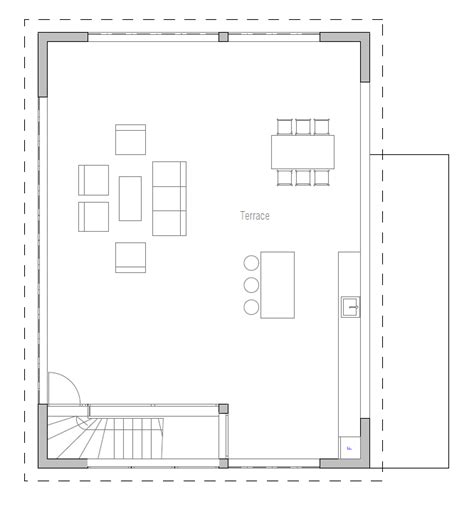new floor plans 2013 modern house plan with rooftop terrace house plan