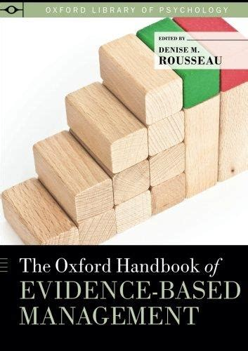 the oxford handbook of talent management oxford handbooks books the oxford handbook of evidence based management avaxhome