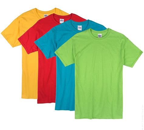 different color shirt in random blank t shirts work shirts jam screen printing