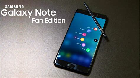 Samsung Galaxy Note Fan Edition Fe galaxy note fan edition samsung s refurbished version of