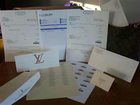 Louis Vuitton Receipts Templates by Lv Templates Eluxury Receipts Eluxury Receipts Louis
