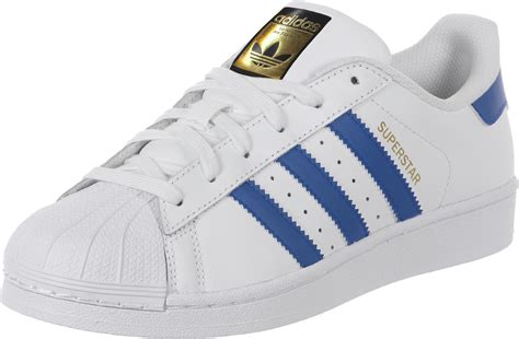 Adidas Prewalker White Blue adidas superstar foundation j w shoes white blue