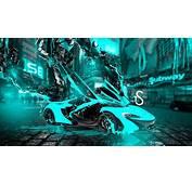 McLaren P1 Fantasy Transformer Car 2014  El Tony