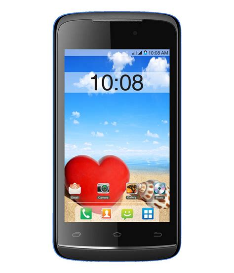 snapdeal offer on mobile phones intex aqya eco black and blue mobile phone