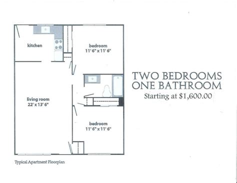 two bedroom one bath apartments ambassador providence two bed one bath apartments